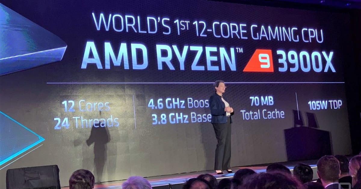 AMD's third-gen Ryzen 9 CPU is a 12-core powerhouse for $499