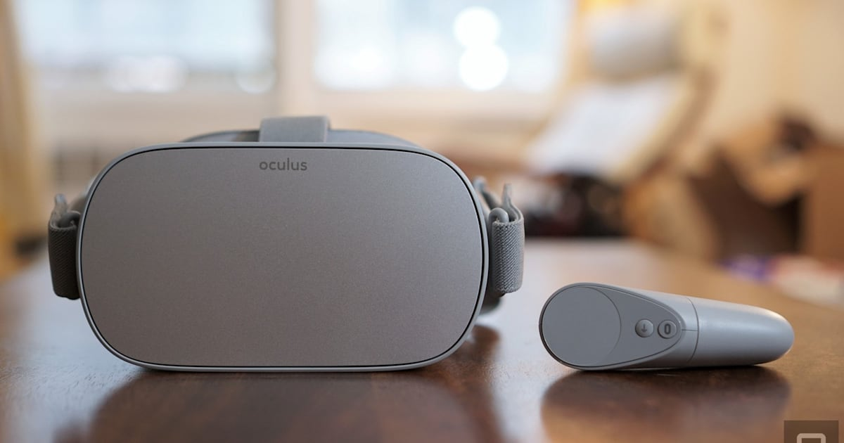 Oculus Go is on sale for $120 at Amazon for Cyber Monday