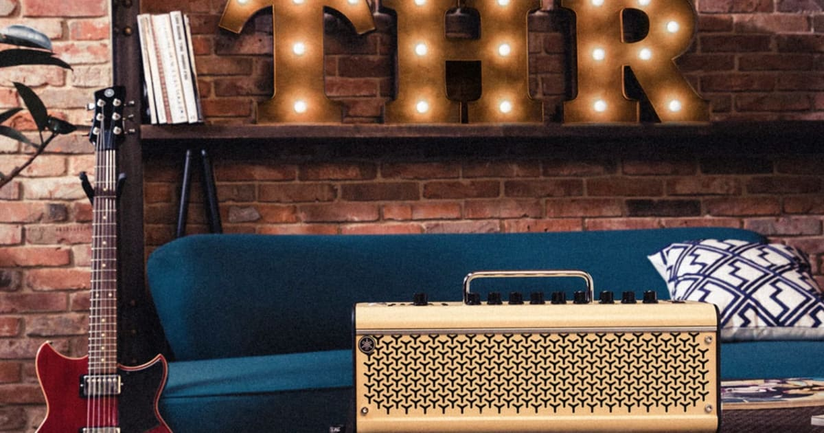 Yamaha Updates Its THR Desktop Computer Guitar Amps For The Very First Time In Years 2