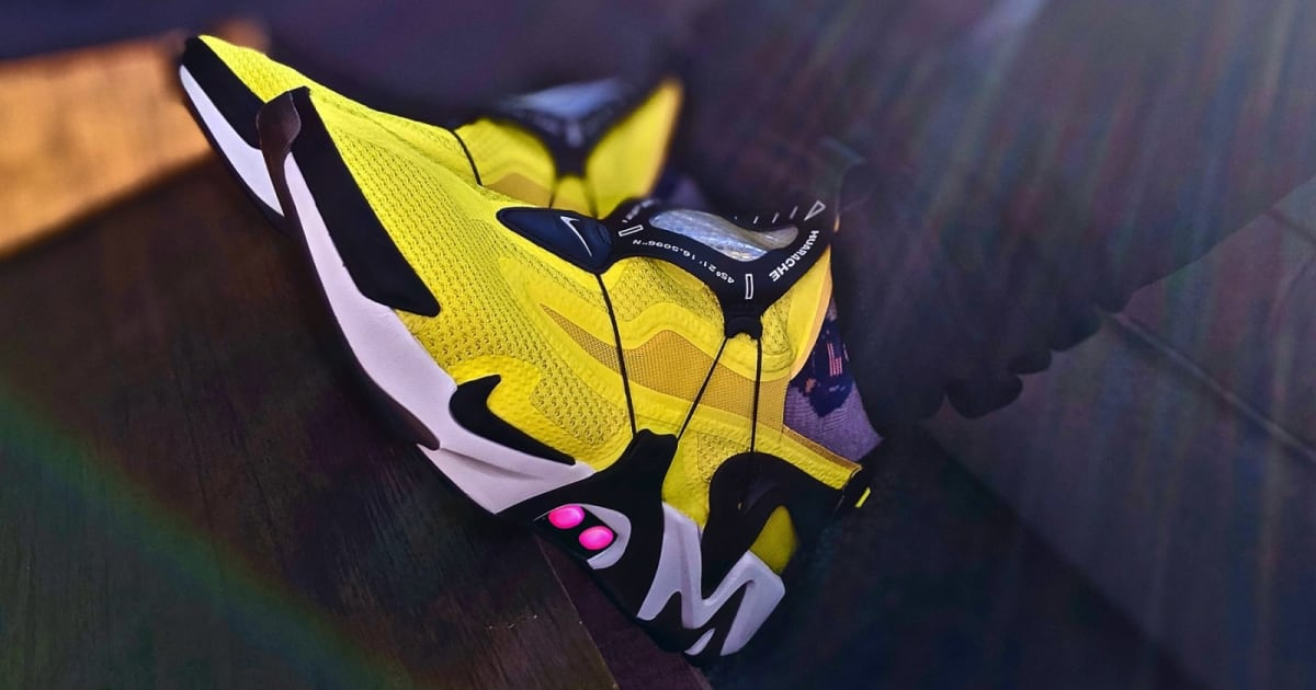 Nike's Adapt Huarache are self-lacing sneakers you'll actually want to wear