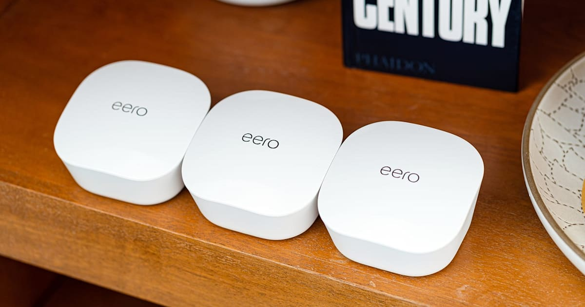 Eero's mesh WiFi routers now support Apple HomeKit