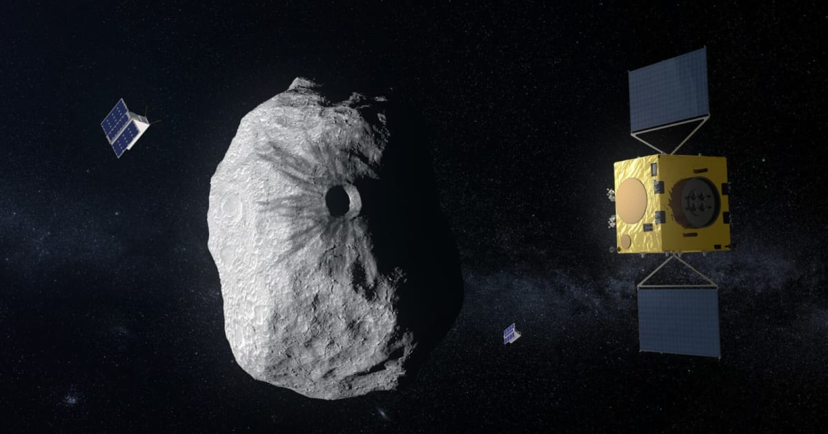 Europe's space agency approves the Hera anti-asteroid mission