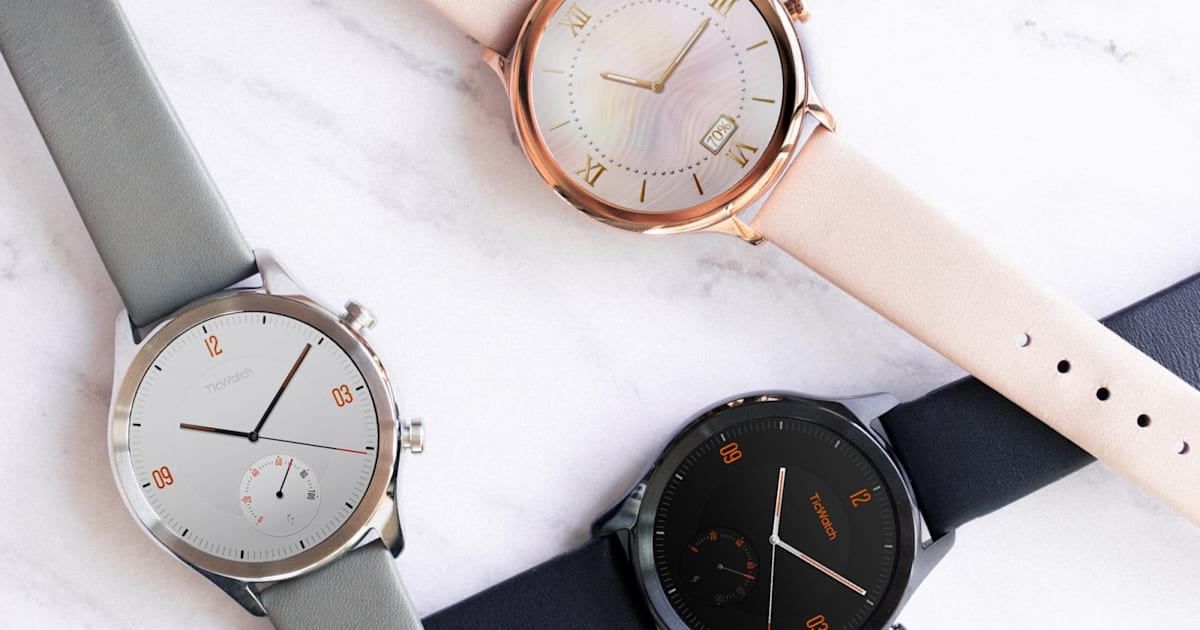 QnA VBage Mobvoi's TicWatch C2 brings classic looks to Wear OS
