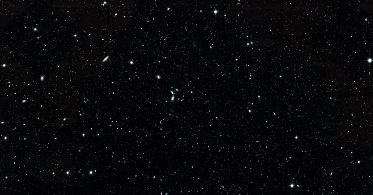 NASA's Hubble Legacy Field image contains 16 years of data