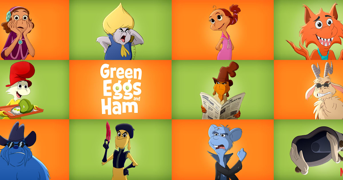 Netflix has an All-star Cast for 'Green Eggs and Ham' Animated Series