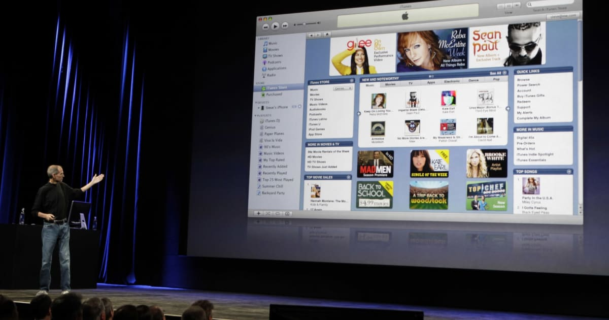 Apple could be done with iTunes 1