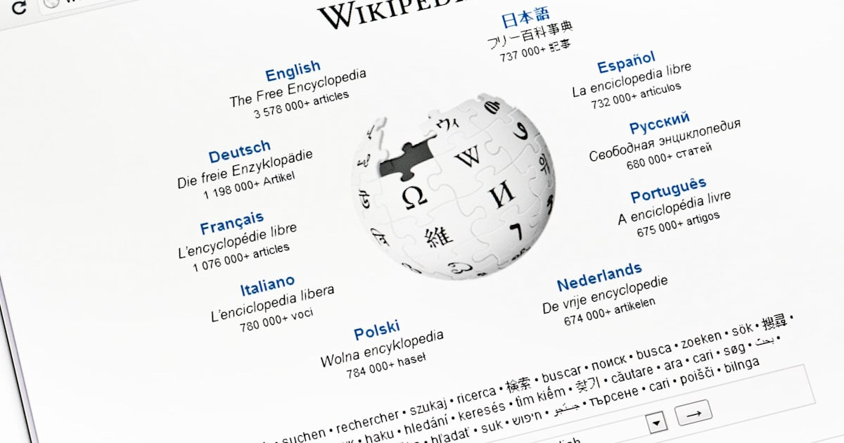 European Wikipedia sites go dark to protest copyright reform