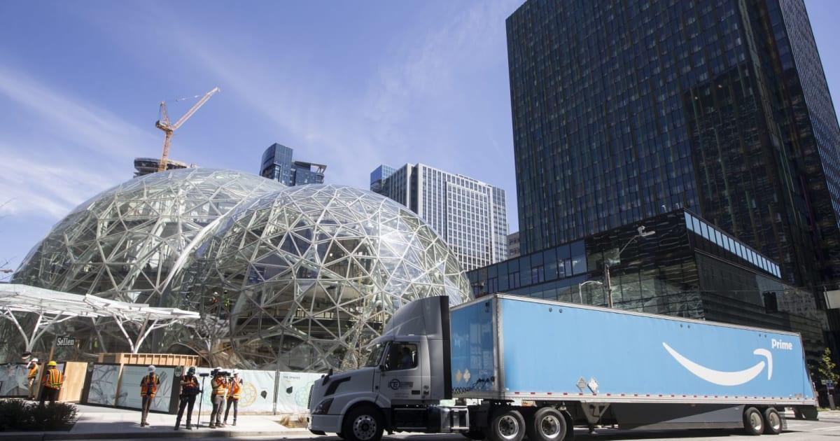 Amazon May Split New Headquarters Between Two Cities