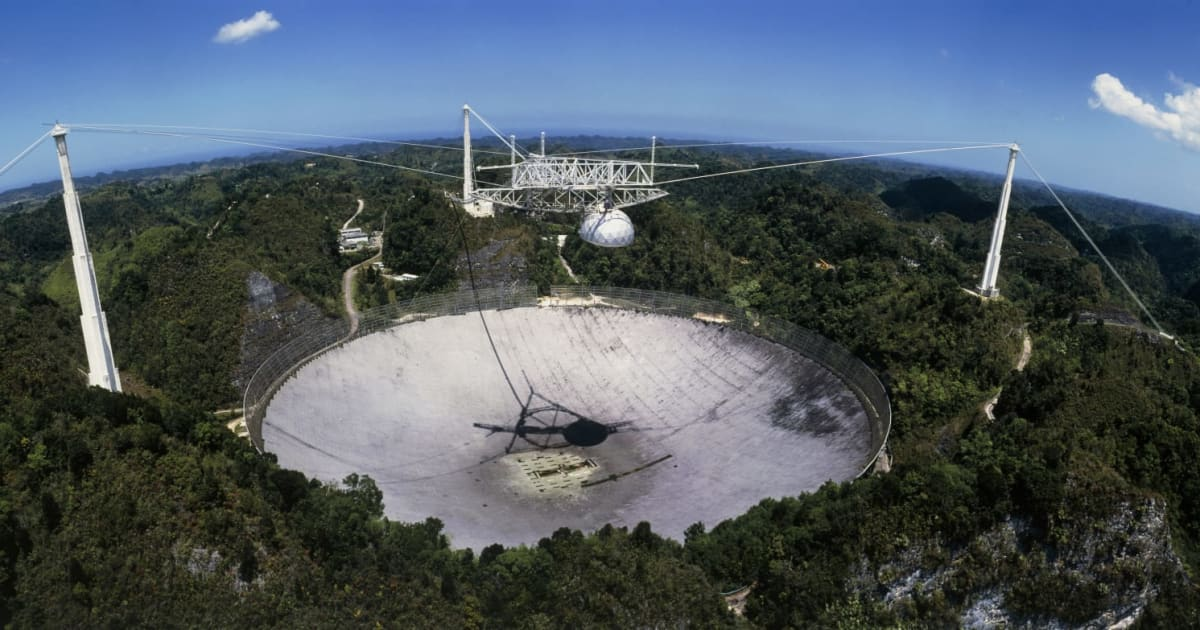 Puerto Rico's Arecibo Observatory Saved from Uncertain Fate