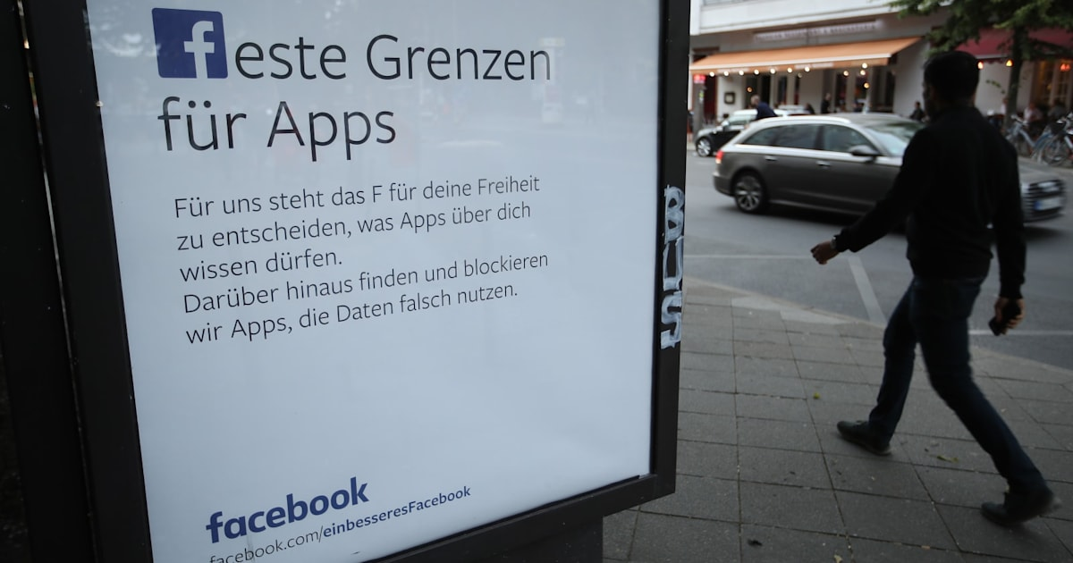 Germany May Order Facebook to Stop Collecting Some User Data