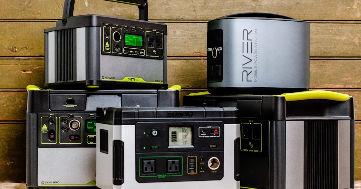 The Best Portable Power Stations