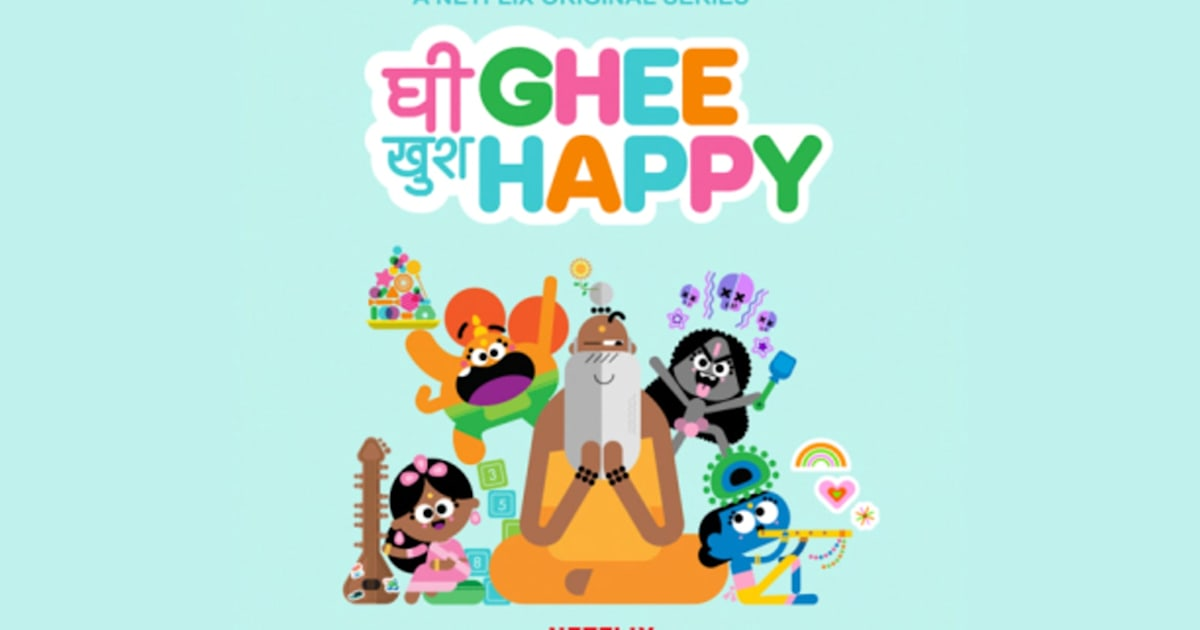 Netflix greenlights Pixar veteran's animated series 'Ghee Happy'