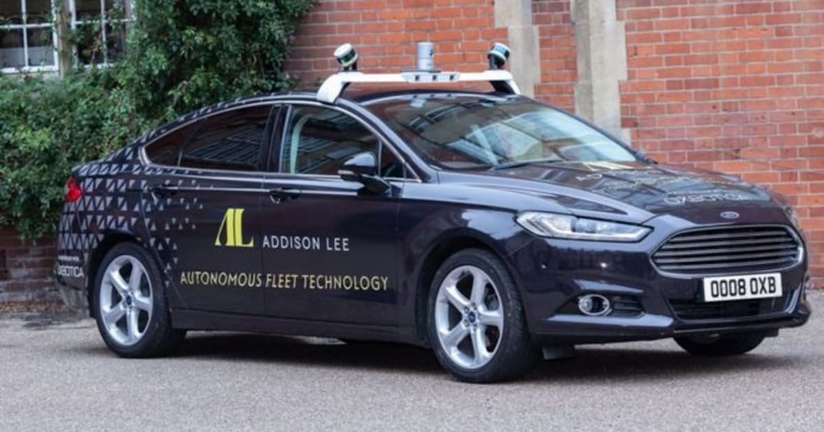 Addison Lee's Self-driving Taxis Could Hit London by 2021