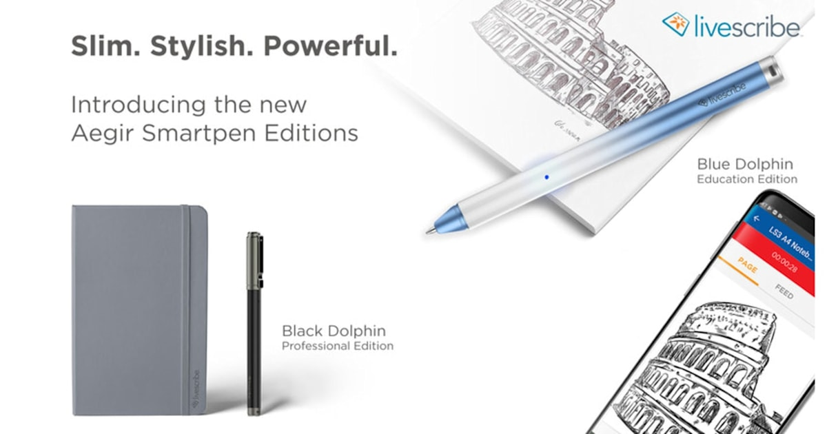 Livescribe is giving the smartpen another shot - Engadget
