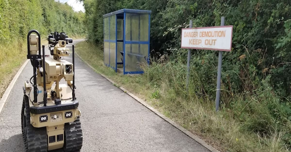 UK Military's Bomb Disposal Robots Come with Haptic Feedback