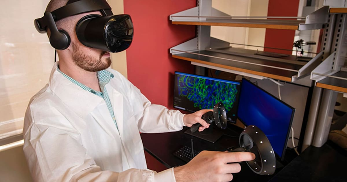 Virtual Reality and also microscopy assistance researchers see 'inside' illness 2