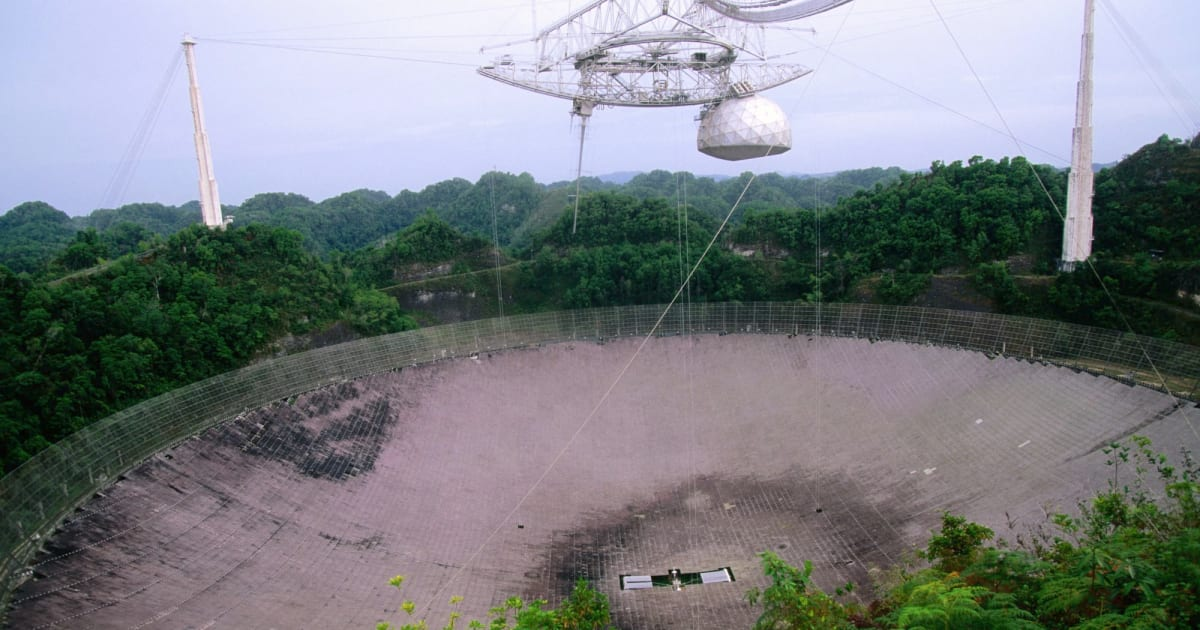 Arecibo Observatory nets $19 million grant to search for dangerous asteroids