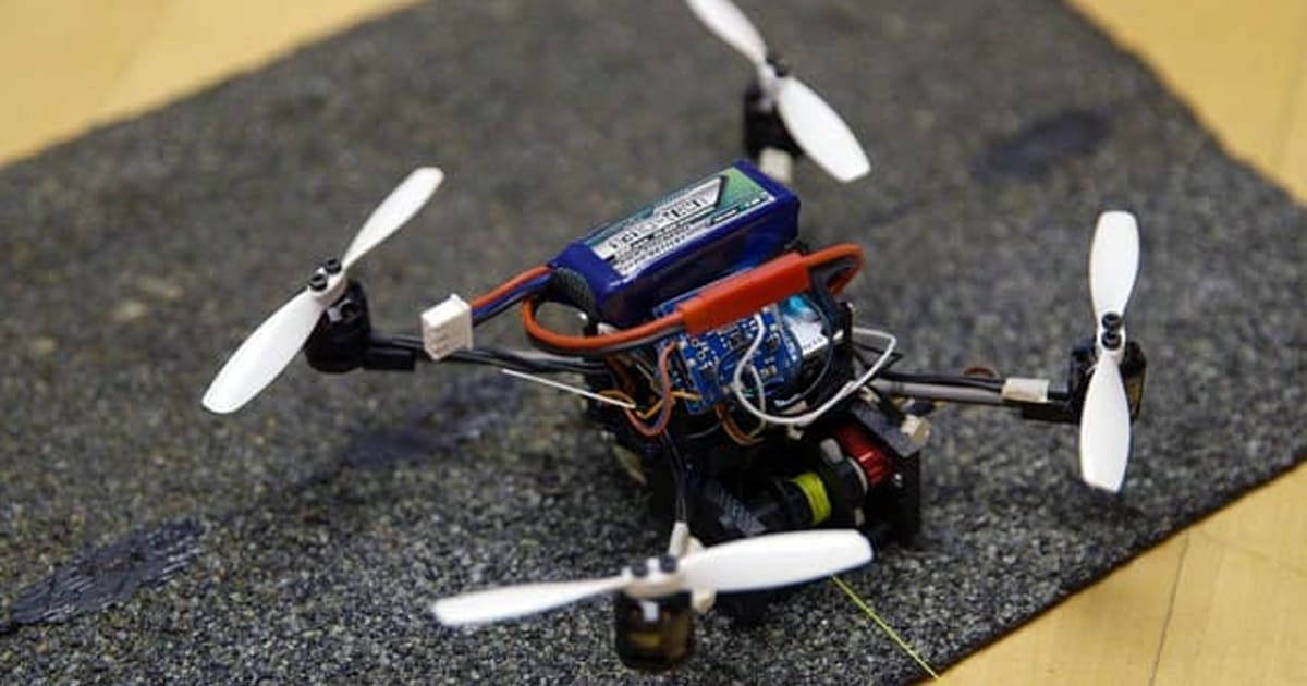 These Tiny Drones Can Lift 40 Times their own Weight
