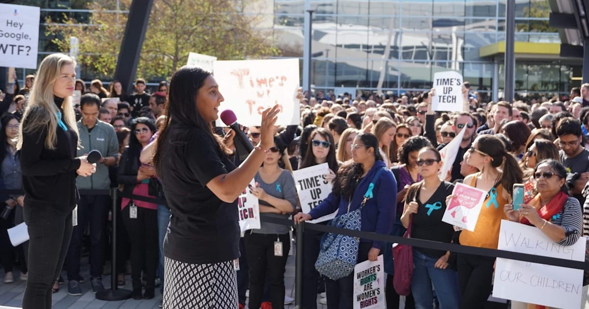Google Walkout Protest Included 20,000 Participants Friday