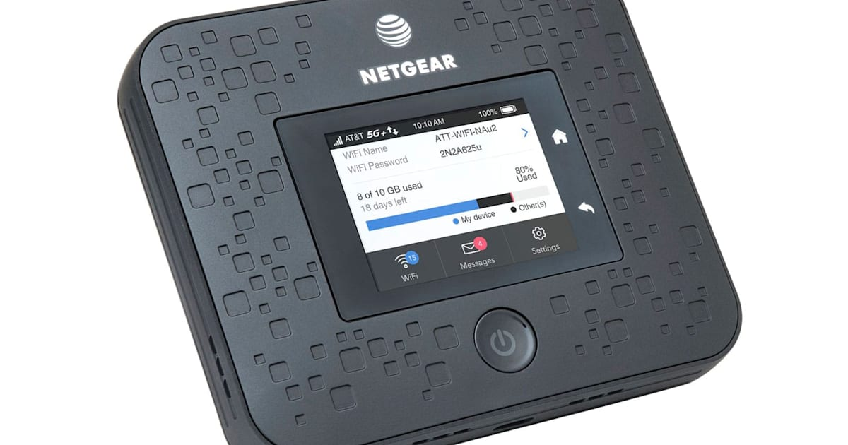 Netgear Jumps Into 5g With At Amp T Compatible Mobile Hotspot