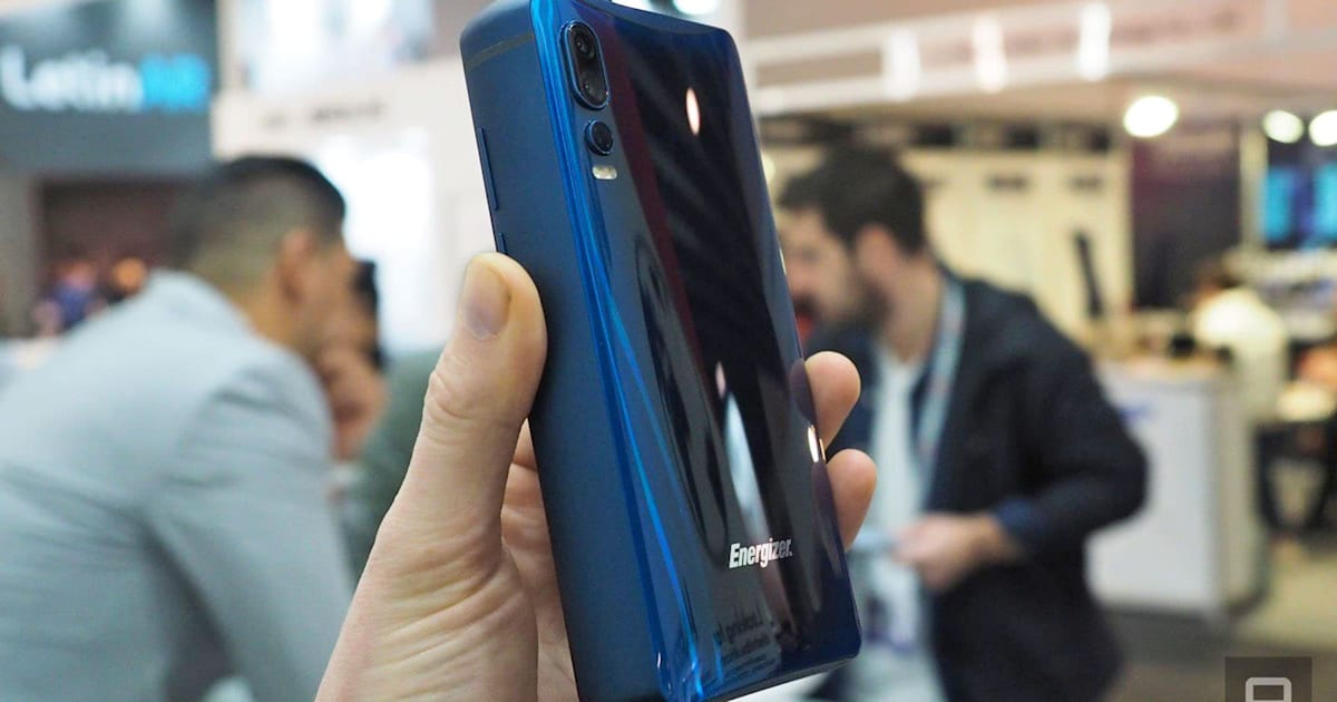 Energizer's Big Battery Smartphone is Almost Three iPhones Thick