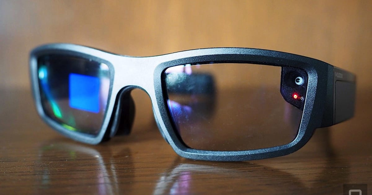 QnA VBage Vuzix's smart glasses still aren't ready for prime time