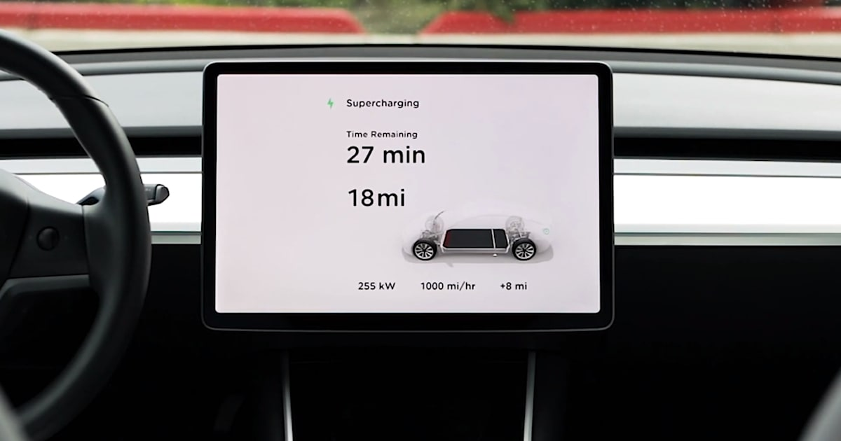 Tesla Promises to Halve Charging Time with V3 Supercharging