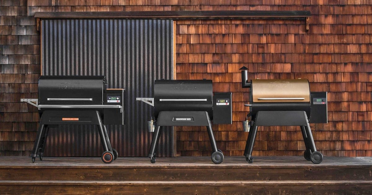 Traeger Makes Built In Wifi A Standard Grill Feature