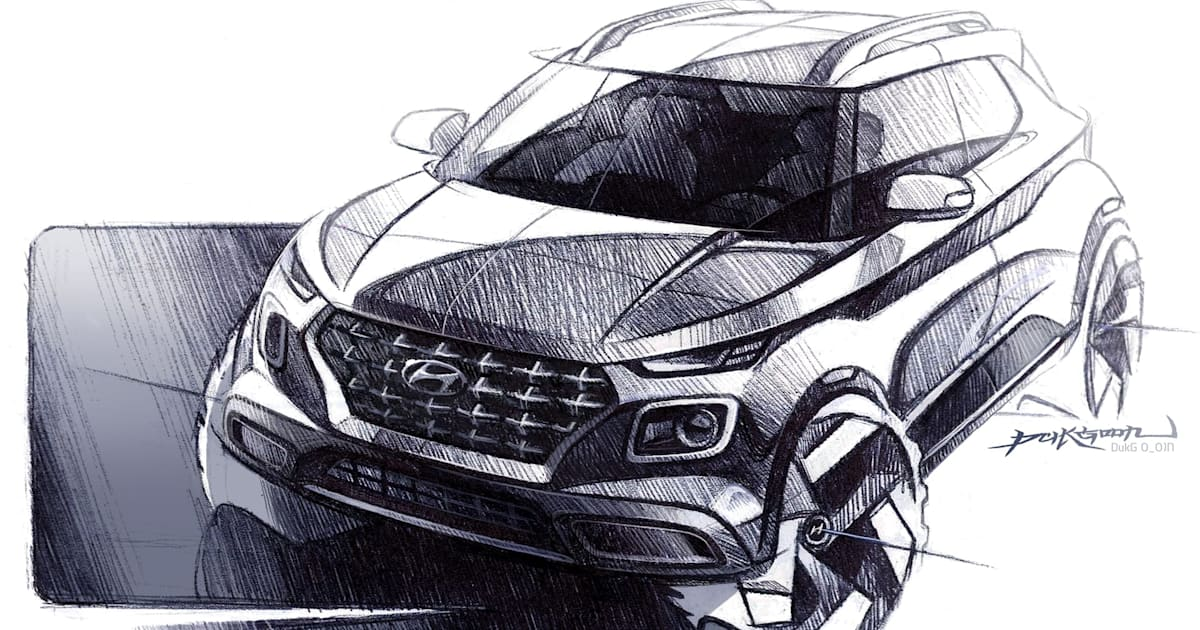 Hyundai Goes even Smaller with the Venue Crossover