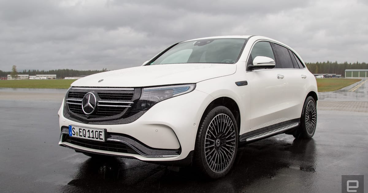 The Mercedes All Electric Eqc Is Luxury First Ev Second