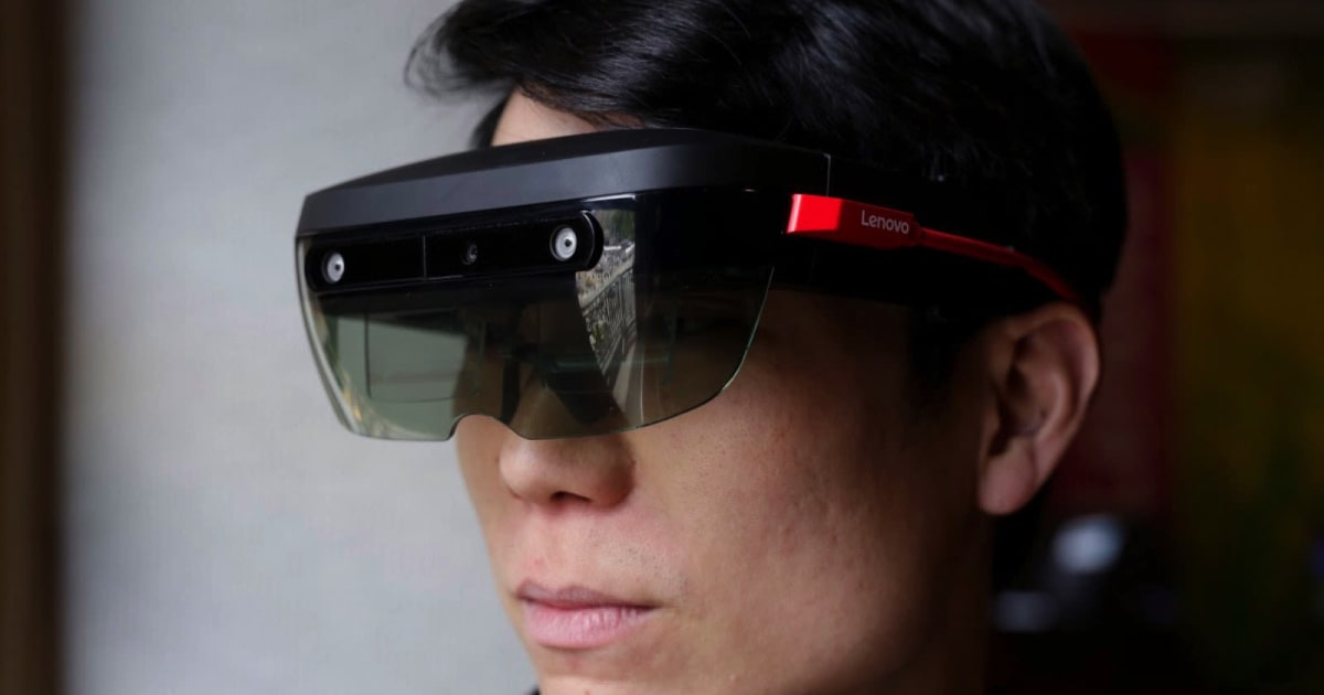 Lenovo launches ThinkReality AR and VR headset for enterprises