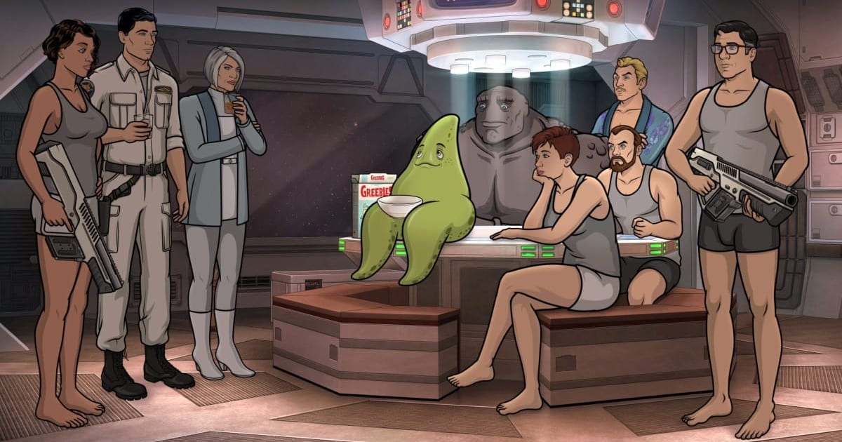 What's on TV: 'Archer: 1999,' 'Always Be my Maybe' and 'Good Omens'