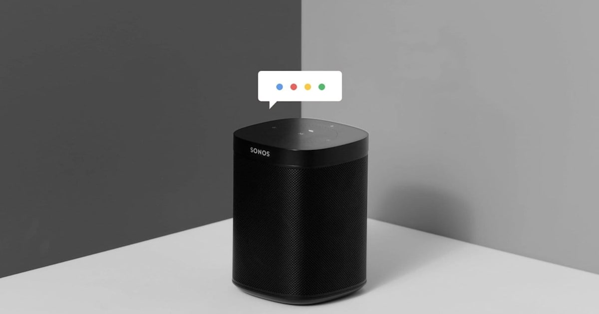 Sonos will finally launch Google Assistant on some speakers next week - Engadget