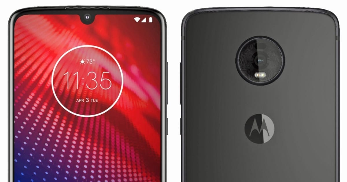 Leaked Moto Z4 pics show it's keeping the headphone jack and Moto Mods 1