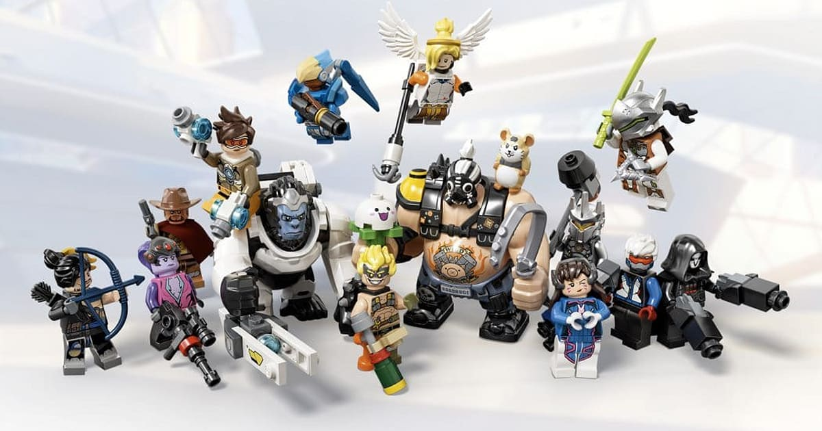 New 'Overwatch' Lego sets feature Wrecking Ball, Junkrat and Roadhog 1