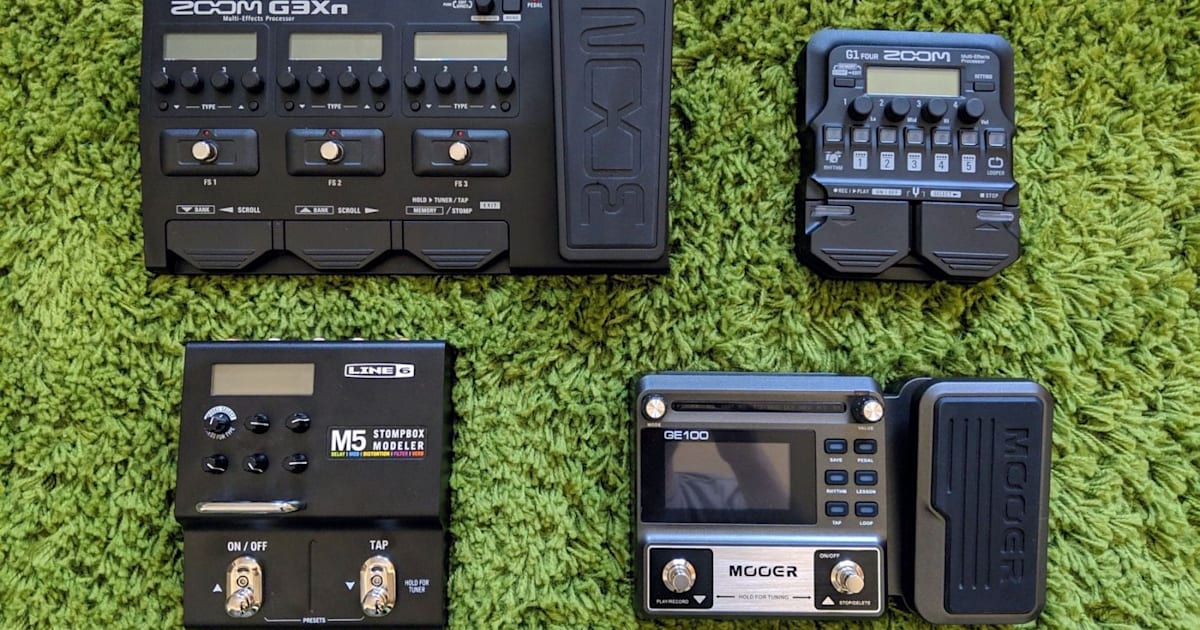 The best multi-effects pedal for new guitarists   Engadget