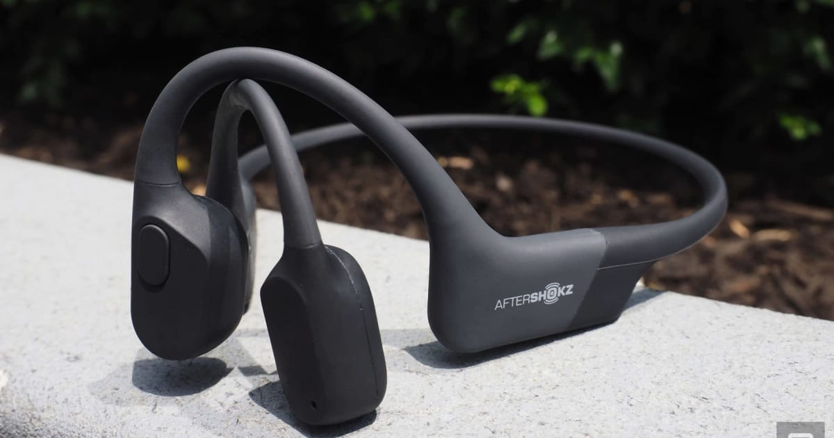 AfterShokz Aeropex open-ear headphones prove less can be more