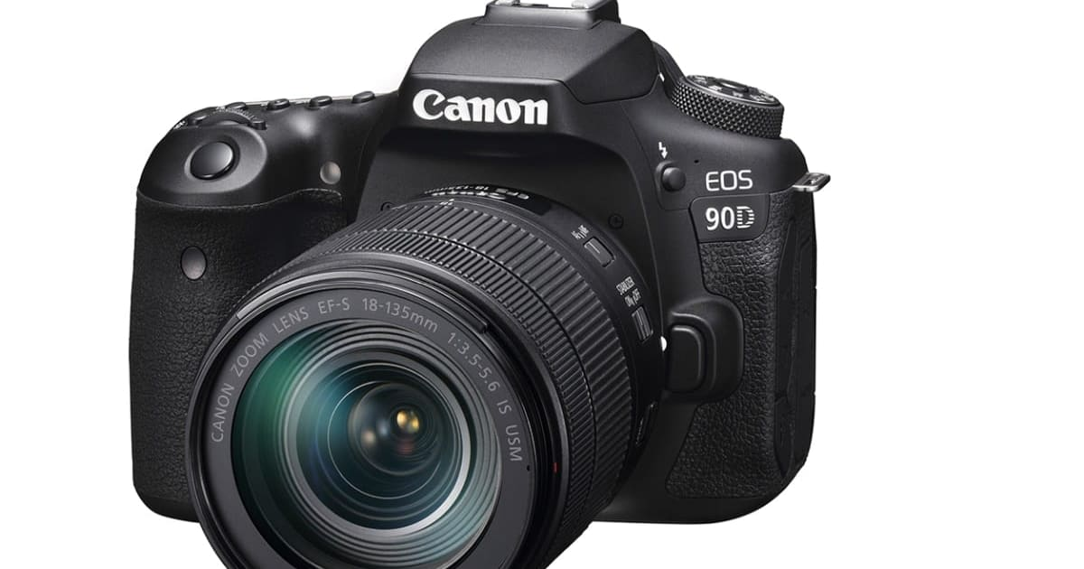 Canon's EOS 90D DSLR and mirrorless EOS M6 Mark II pack 32.5-megapixels
