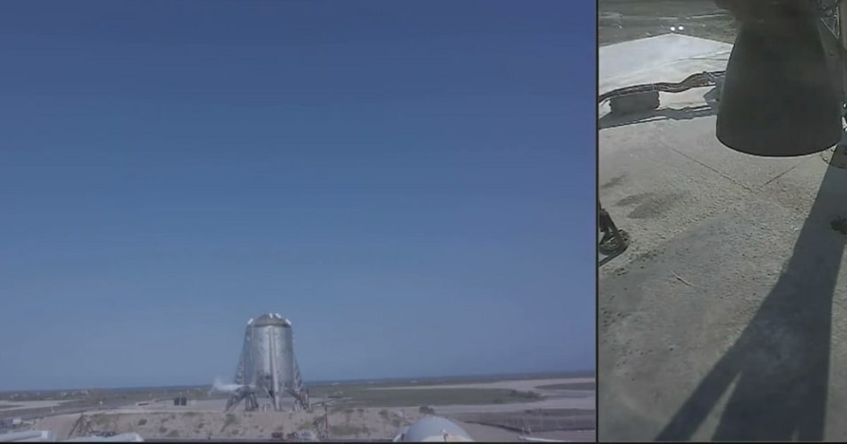 SpaceX Starhopper 150m hover test aborted (updated)