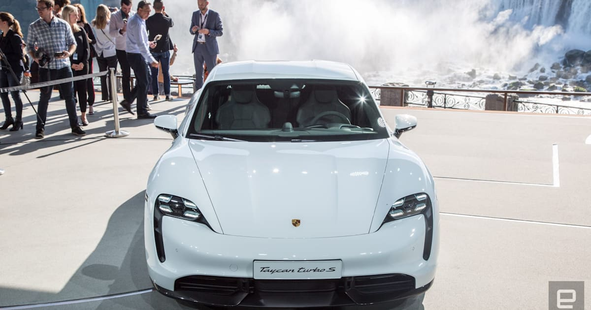 Porsche welcomes challenge from Tesla as it adapts to the EV world