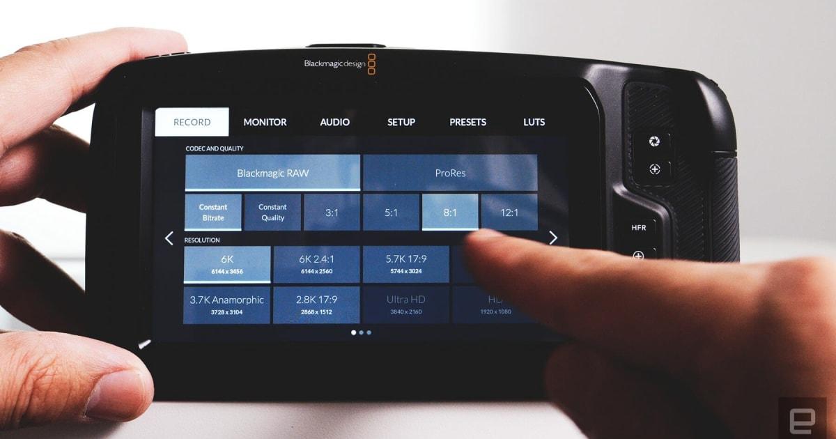Tilta mods Blackmagic's Pocket Cinema Camera with a tilt screen and SSD 1
