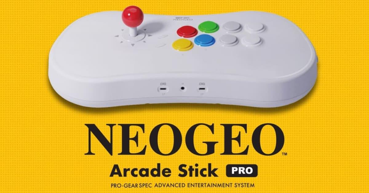 Neo Geo Arcade Stick Pro puts a retro console inside a controller 1