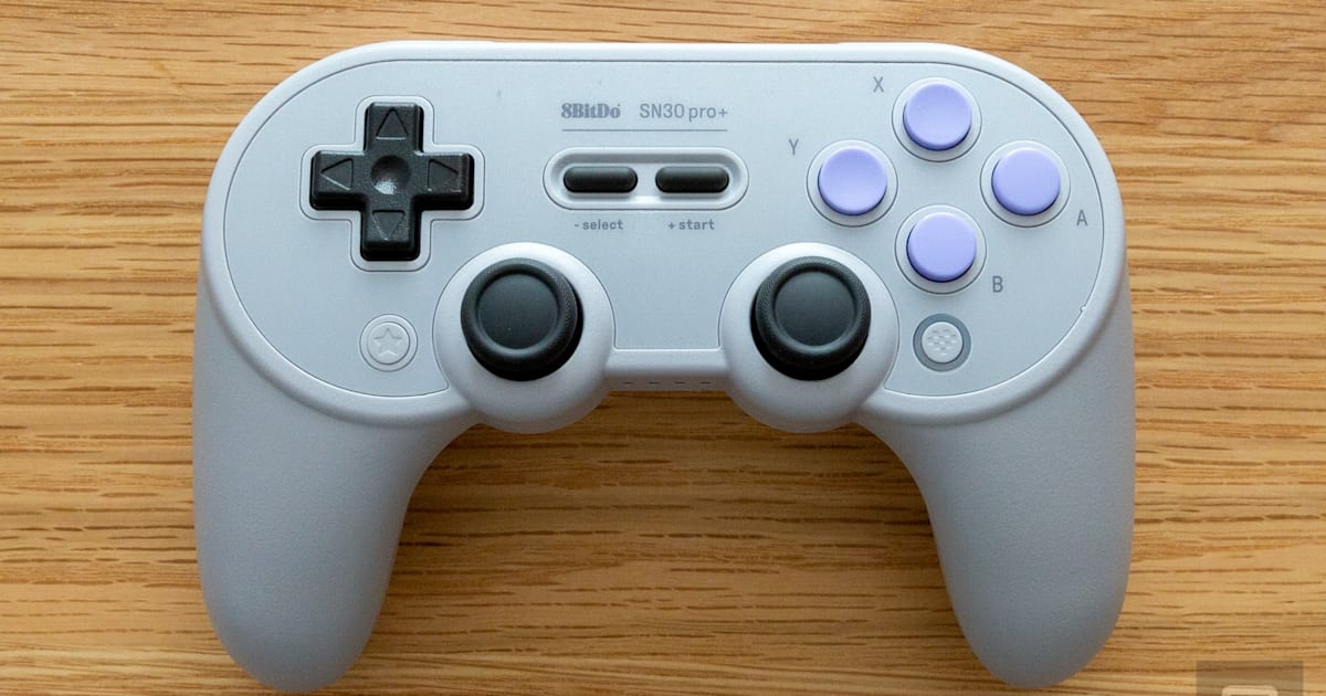 8BitDo's SN30 Pro+ is a near-perfect Switch controller