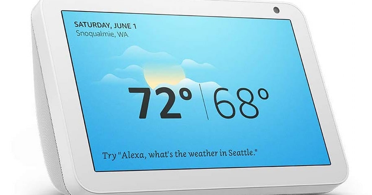 Amazon discounts the Echo Show 8 by $30 before it's available