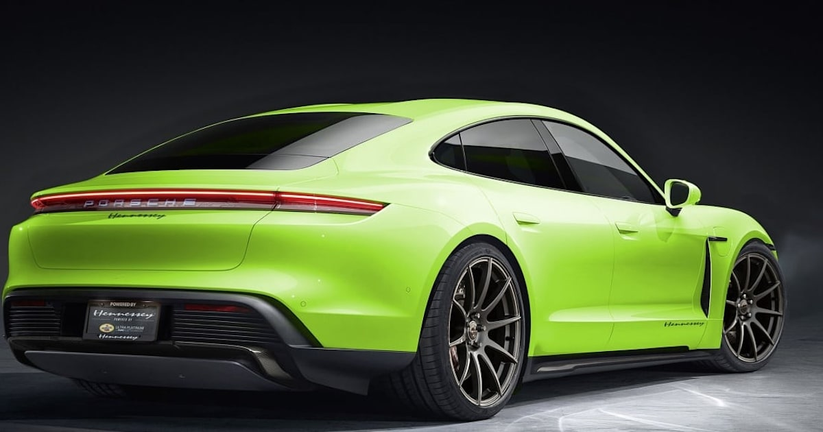 Hennessey Performance's first EV mods will go on the Porsche Taycan 1