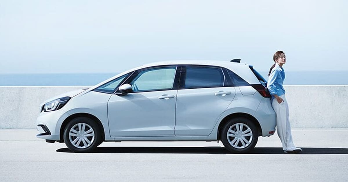 Honda jazz hybrid 2020