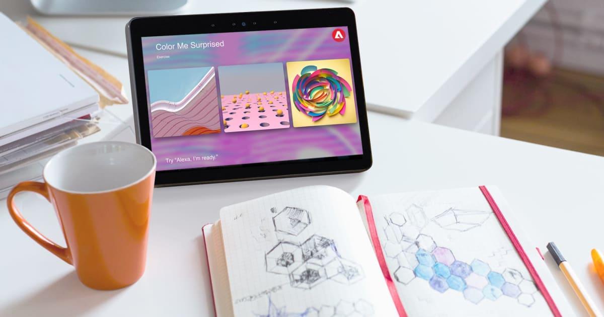Adobe's Alexa skill reads 'inspirational' quotes to jaded creatives 1