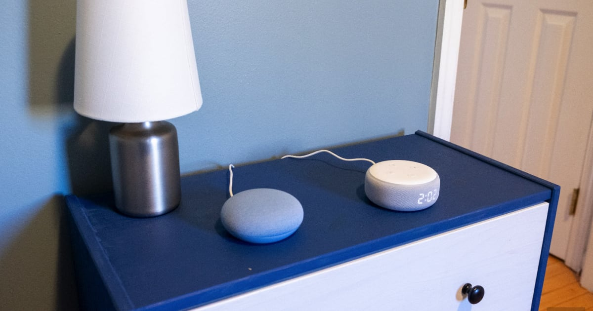 Google's Nest Mini vs. Amazon's Echo Dot: Pick Your Assistant