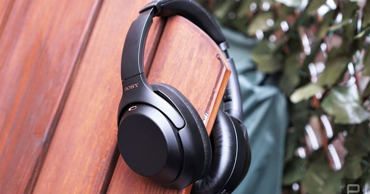 Sony's best noise-cancelling headphones are on sale at Amazon