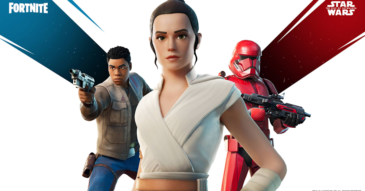 'Fortnite' adds a Rey skin, TIE fighter and more 'Star Wars' goodies
